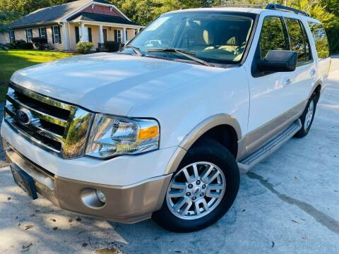 2012 Ford Expedition for sale at Cobb Luxury Cars in Marietta GA