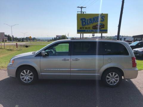2014 Chrysler Town and Country for sale at Blake's Auto Sales in Rice Lake WI