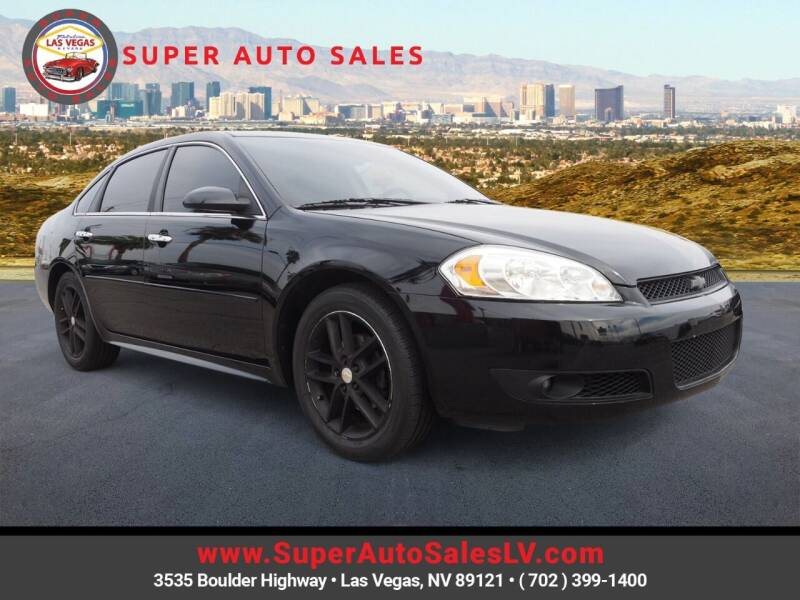 2016 Chevrolet Impala Limited for sale at Super Auto Sales in Las Vegas NV