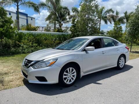 2016 Nissan Altima for sale at D & P OF MIAMI CORP in Miami FL