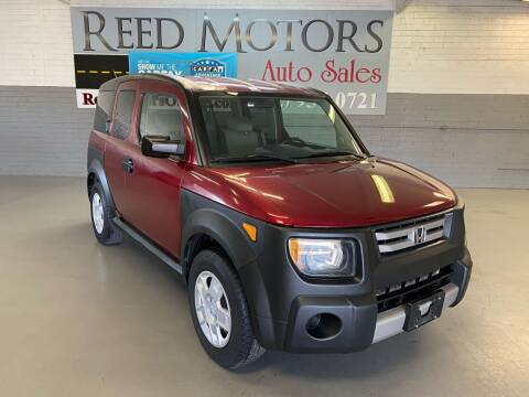 2008 Honda Element for sale at REED MOTORS LLC in Phoenix AZ