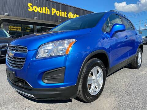 2016 Chevrolet Trax for sale at South Point Auto Plaza, Inc. in Albany NY