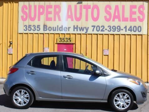 2012 Mazda MAZDA2 for sale at Super Auto Sales in Las Vegas NV