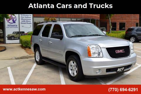 2013 GMC Yukon for sale at Atlanta Cars and Trucks in Kennesaw GA