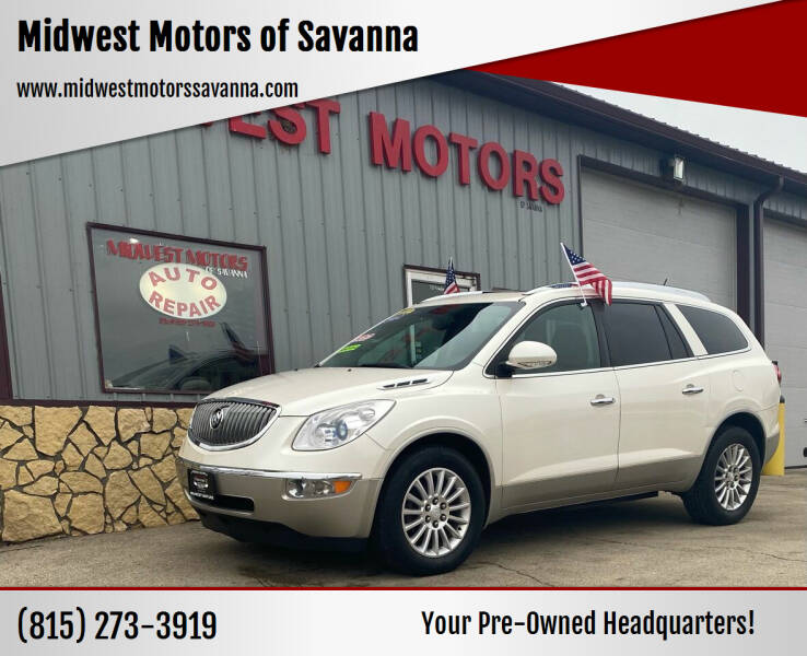 2012 Buick Enclave for sale at Midwest Motors of Savanna in Savanna IL