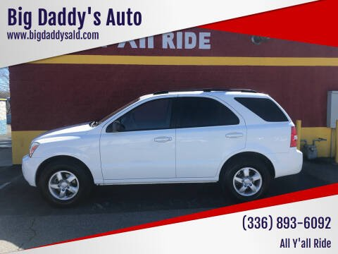 2008 Kia Sorento for sale at Big Daddy's Auto in Winston-Salem NC