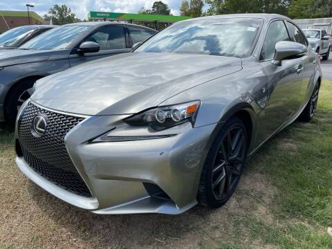 2015 Lexus IS 250 for sale at BRYANT AUTO SALES in Bryant AR