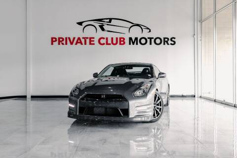 2013 Nissan GT-R for sale at Private Club Motors in Houston TX