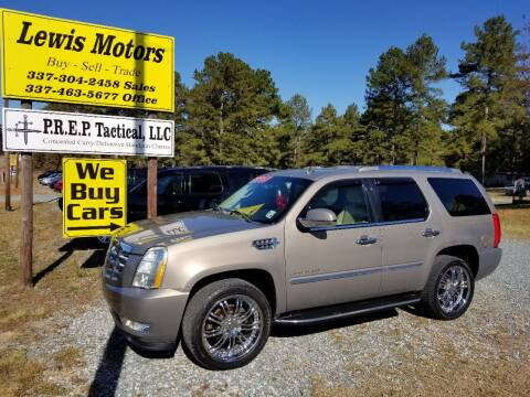 2007 Cadillac Escalade for sale at Lewis Motors LLC in Deridder LA