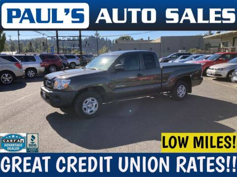 2010 Toyota Tacoma for sale at Paul's Auto Sales in Eugene OR