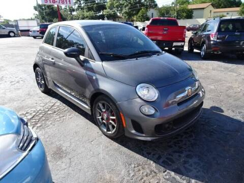 2013 FIAT 500 for sale at DONNY MILLS AUTO SALES in Largo FL