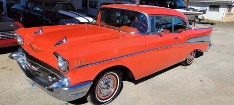 1957 Chevrolet Bel Air for sale at COLLECTABLE-CARS LLC in Nacogdoches TX