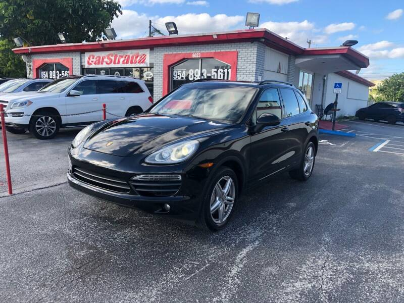 2012 Porsche Cayenne for sale at CARSTRADA in Hollywood FL