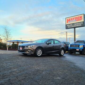 2015 Mazda MAZDA3 for sale at Hayden Cars in Coeur D Alene ID
