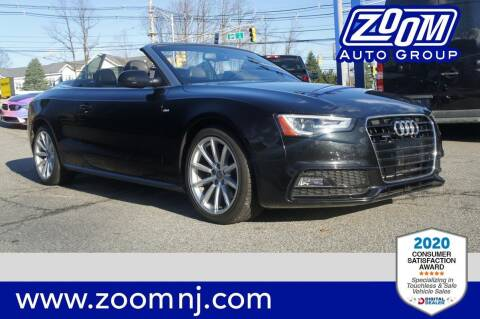 2015 Audi A5 for sale at Zoom Auto Group in Parsippany NJ
