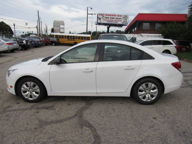 2014 Chevrolet Cruze for sale at King of Auto in Stone Mountain GA