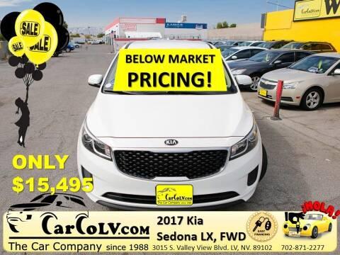 2017 Kia Sedona for sale at The Car Company in Las Vegas NV