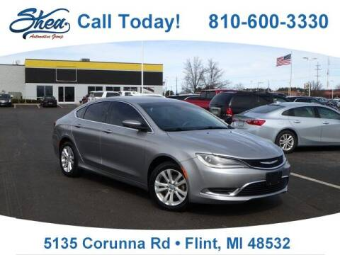 2015 Chrysler 200 for sale at Jamie Sells Cars 810 - Linden Location in Flint MI