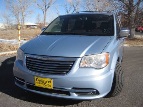 2013 Chrysler Town and Country for sale at Pollard Brothers Motors in Montrose CO
