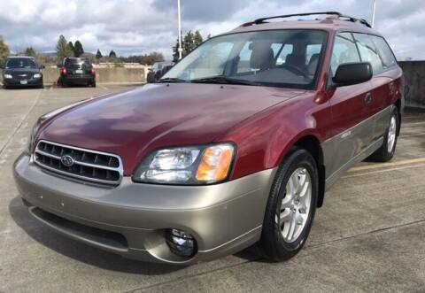 2002 Subaru Outback for sale at Rave Auto Sales in Corvallis OR