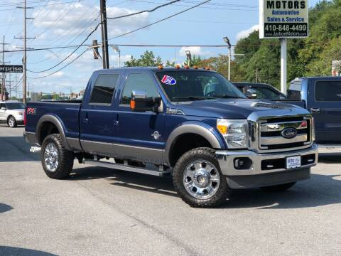 2012 Ford F-350 Super Duty for sale at Jarboe Motors in Westminster MD