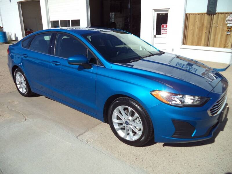2019 Ford Fusion for sale at Apex Auto Sales in Coldwater KS