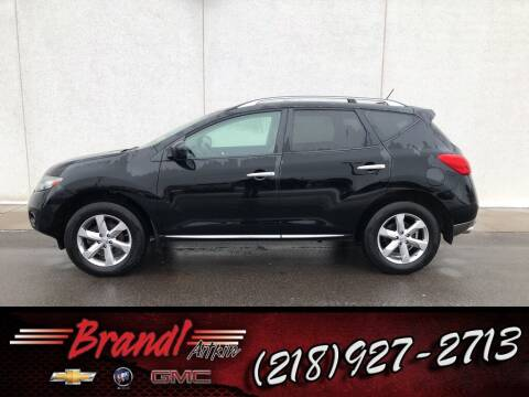 2010 Nissan Murano for sale at Brandl GM in Aitkin MN