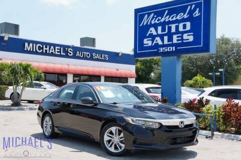 2018 Honda Accord for sale at Michael's Auto Sales Corp in Hollywood FL