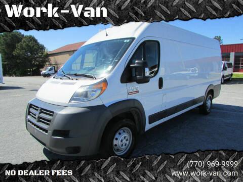 2015 RAM ProMaster Cargo for sale at Work-Van.com in Union City GA