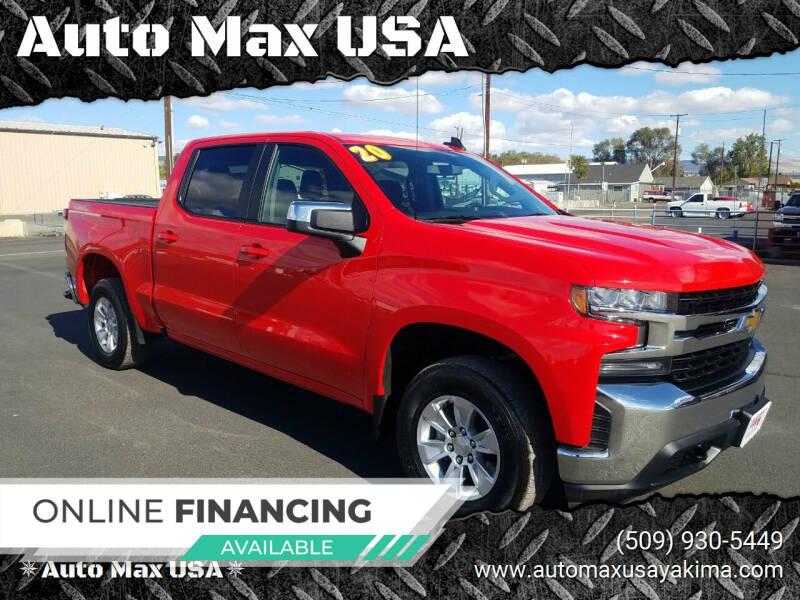 2020 Chevrolet Silverado 1500 for sale at Auto Max USA in Yakima WA