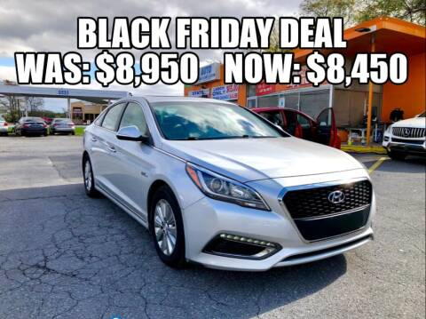 2016 Hyundai Sonata Hybrid for sale at AZ AUTO in Carlisle PA