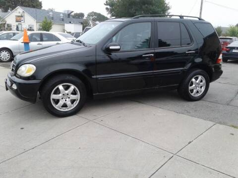 2002 Mercedes-Benz M-Class for sale at Nelsons Auto Specialists in New Bedford MA