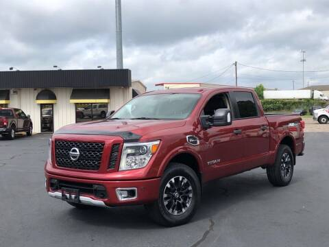 2017 Nissan Titan for sale at J & L AUTO SALES in Tyler TX