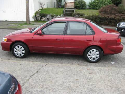 2002 Toyota Corolla for sale at UNIVERSITY MOTORSPORTS in Seattle WA
