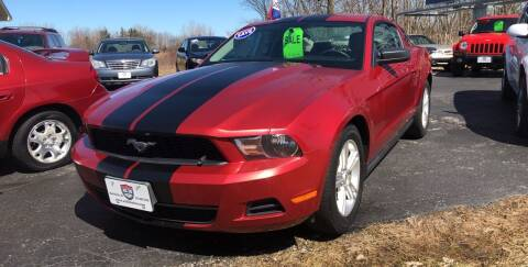 2011 Ford Mustang for sale at US 30 Motors in Merrillville IN