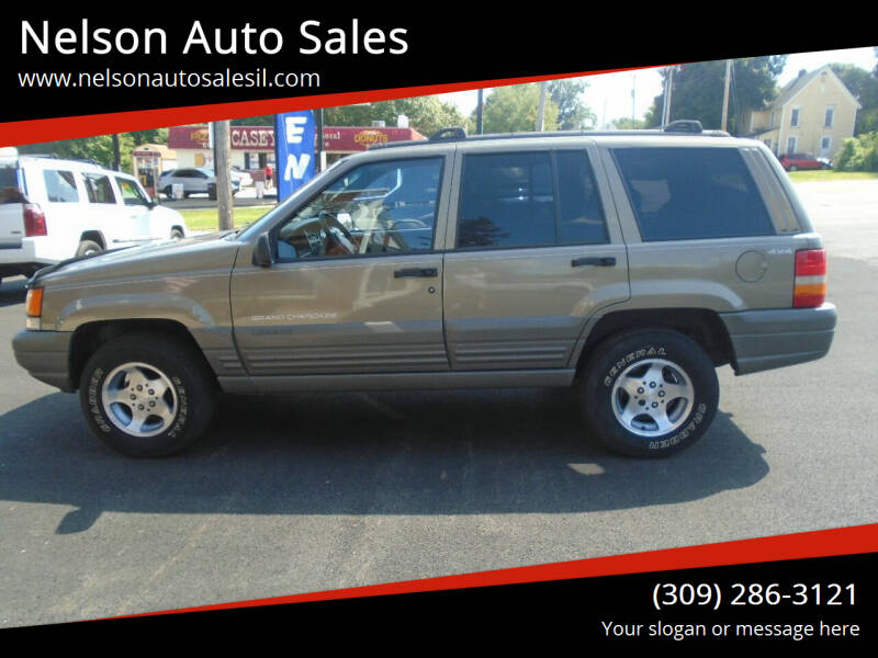 1997 Jeep Grand Cherokee for sale at Nelson Auto Sales in Toulon IL