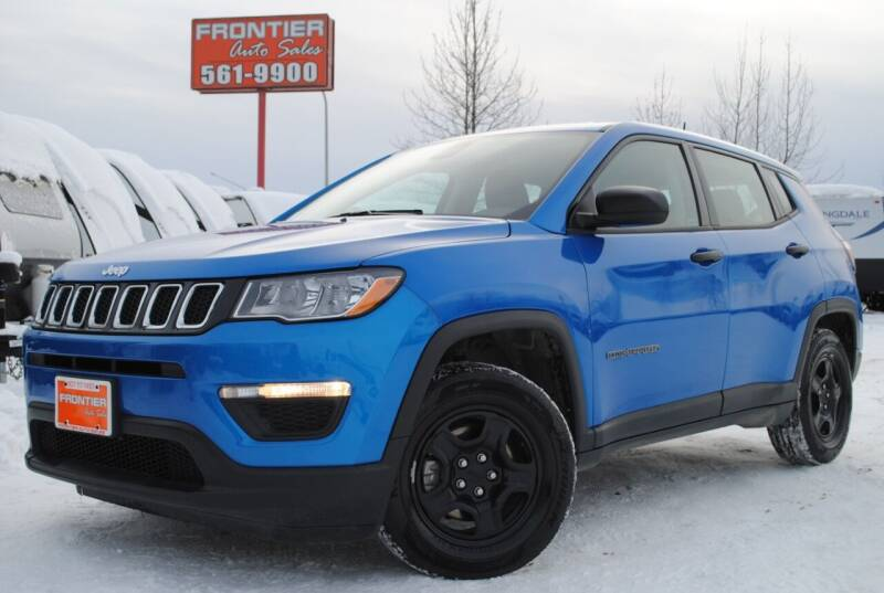 2018 Jeep Compass for sale at Frontier Auto & RV Sales in Anchorage AK