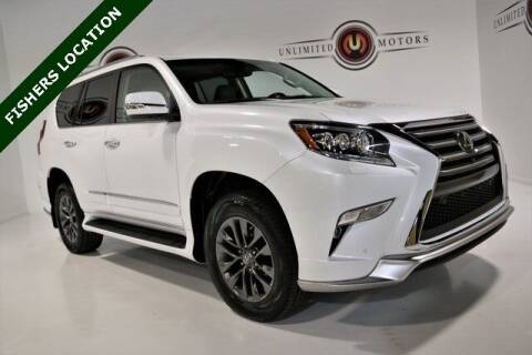 2019 Lexus GX 460 for sale at Unlimited Motors in Fishers IN