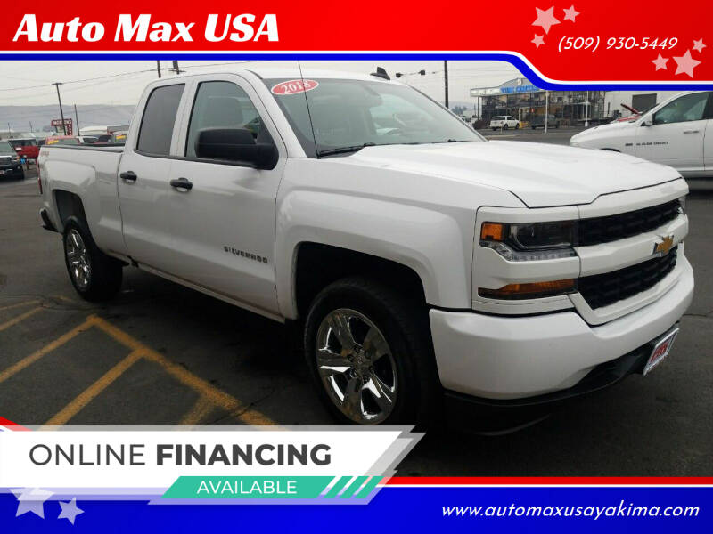 2018 Chevrolet Silverado 1500 for sale at Auto Max USA in Yakima WA