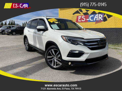 2017 Honda Pilot for sale at Escar Auto - 9809 Montana Ave Lot in El Paso TX