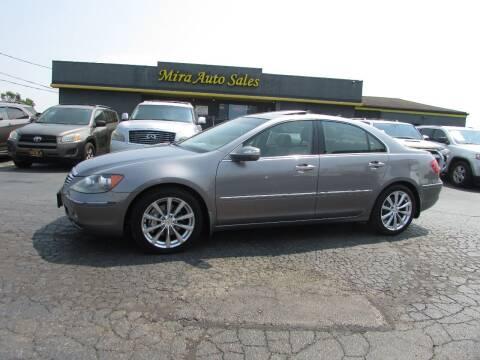 2006 Acura RL for sale at MIRA AUTO SALES in Cincinnati OH