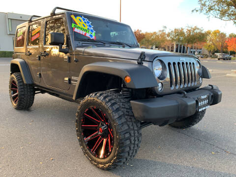 2018 Jeep Wrangler JK Unlimited for sale at 5 Star Auto Sales in Modesto CA