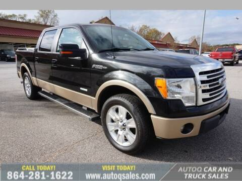 2013 Ford F-150 for sale at Auto Q Car and Truck Sales in Mauldin SC