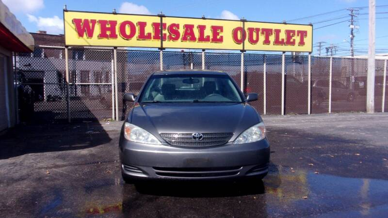2002 Toyota Camry for sale at LONG BROTHERS CAR COMPANY in Cleveland OH