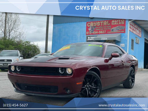 2017 Dodge Challenger for sale at Crystal Auto Sales Inc in Nashville TN