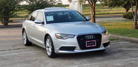 2013 Audi A6 for sale at America's Auto Financial in Houston TX