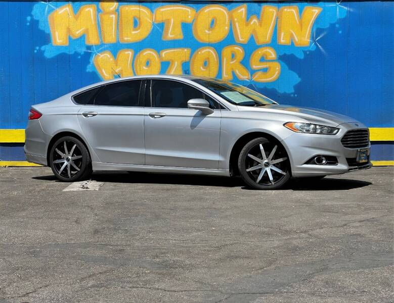 2014 Ford Fusion for sale at Midtown Motors in San Jose CA