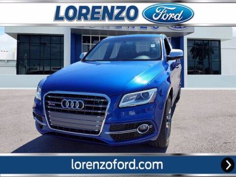 2017 Audi SQ5 for sale at Lorenzo Ford in Homestead FL