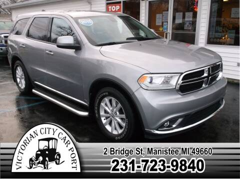 2015 Dodge Durango for sale at Victorian City Car Port INC in Manistee MI