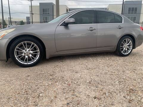 2007 Infiniti G35 for sale at FAIR DEAL AUTO SALES INC in Houston TX